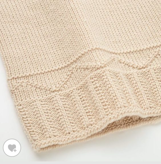 JWアンダーソンローゲージクルーネックセーターの素材