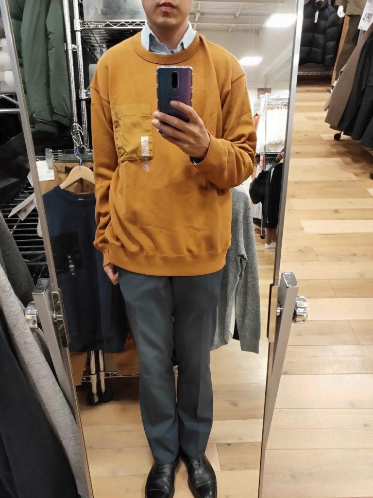 JWアンダーソンスウェットシャツのブラウンサイズXL前