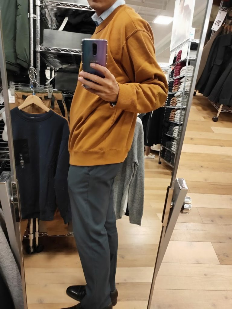 JWアンダーソンスウェットシャツのブラウンサイズXL横