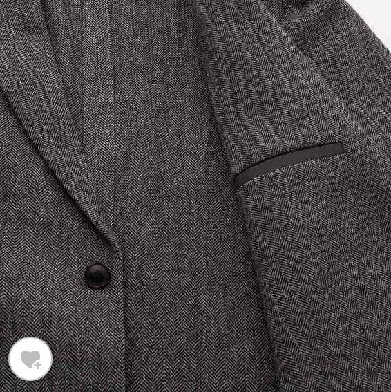 ユニクロツイードジャケットの素材