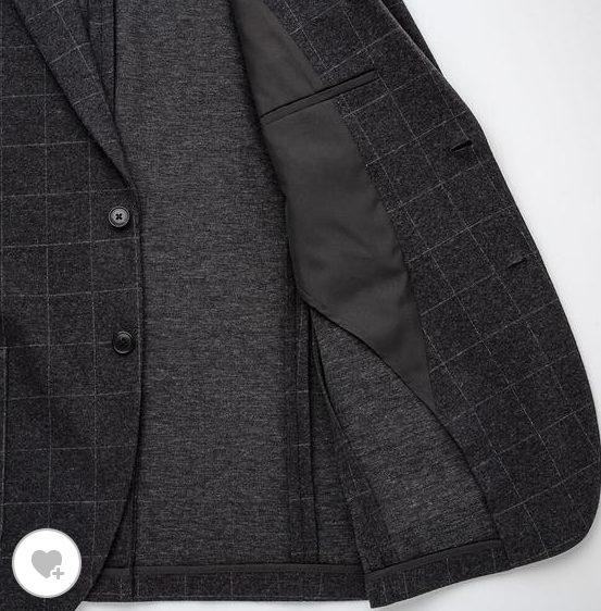コンフォートジャケットの素材
