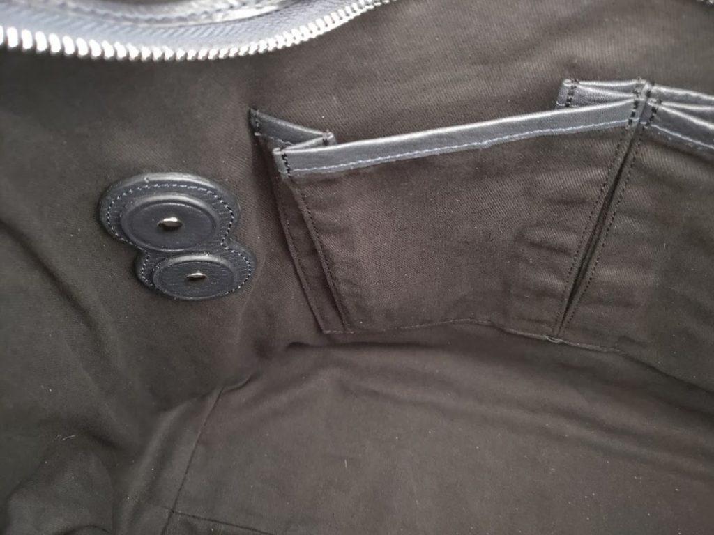 ユニバーサルランゲージイントレチャートバッグの外観内側2