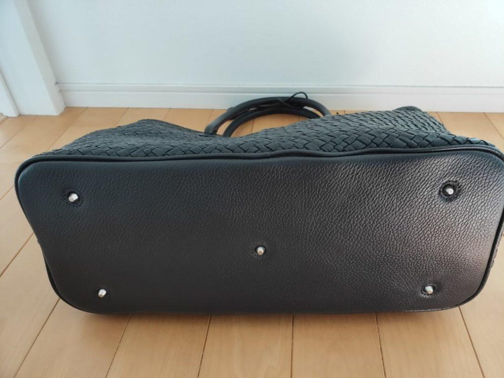 ユニバーサルランゲージイントレチャートバッグの外観底面