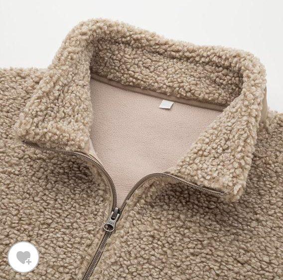 ボアフリースジャケットの素材