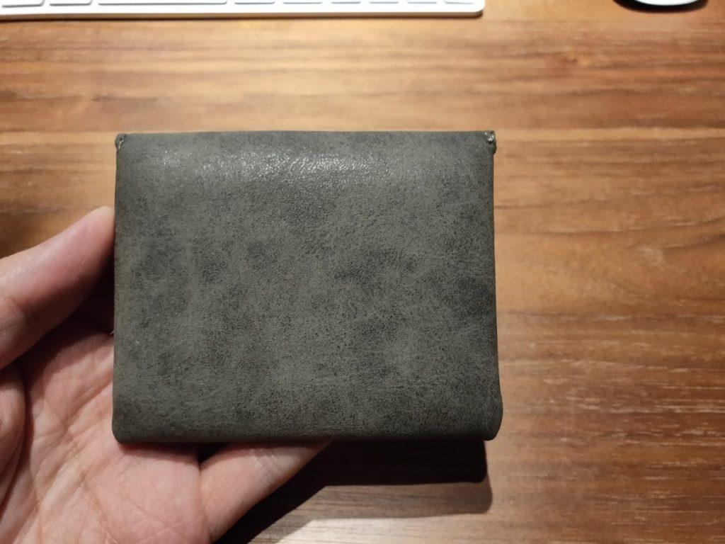 ダイソー財布の後ろ