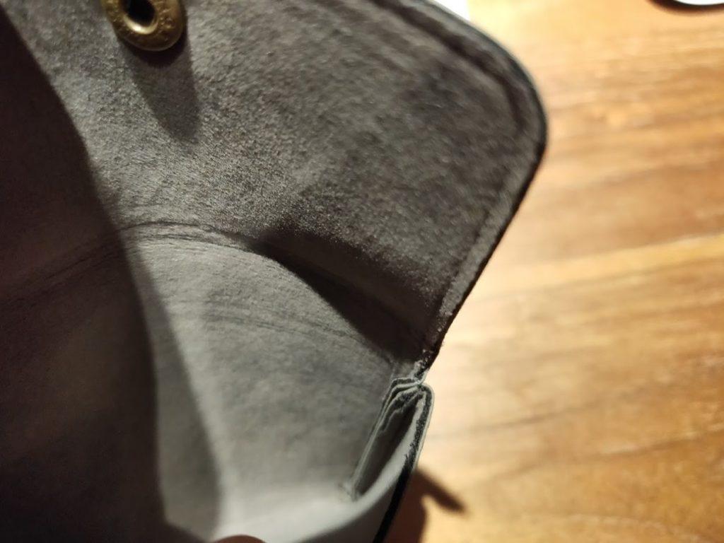 ダイソー財布の内部