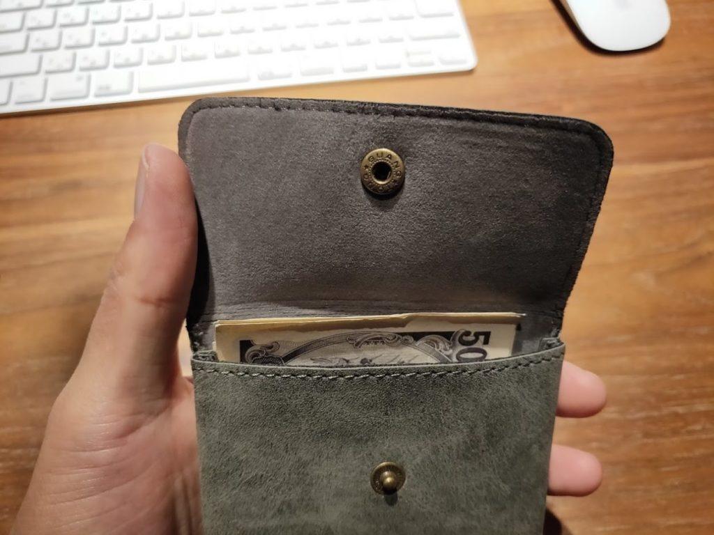 ダイソー財布のお金