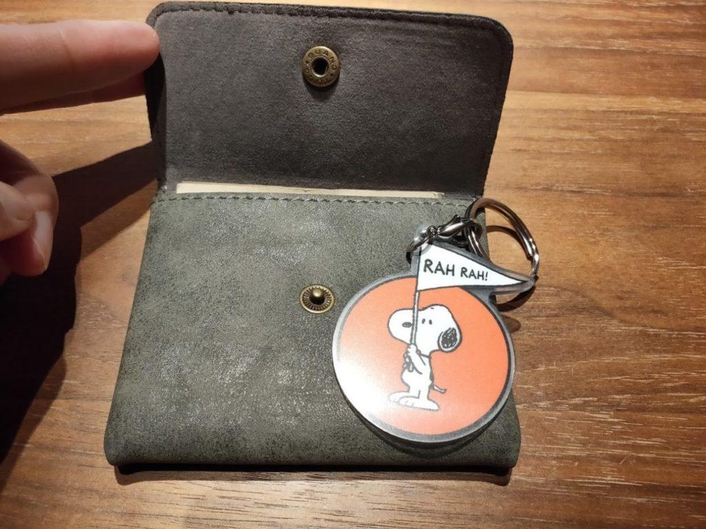 ダイソー財布の台湾ipass