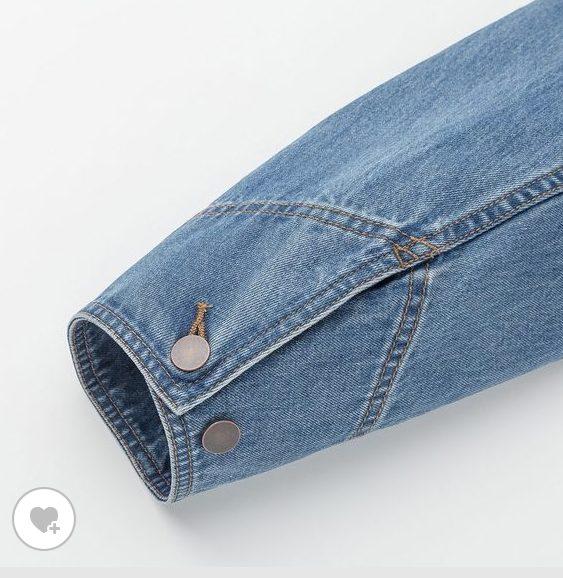 デニムワークジャケット素材1