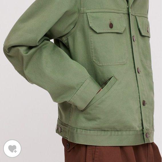 トラッカージャケット素2