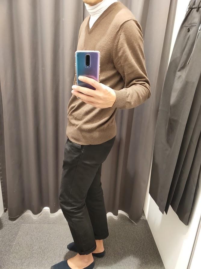 ユニクロU発売当日の服装横