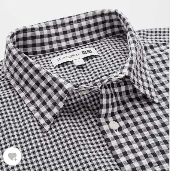 JWアンダーソンシアサッカーシャツ素材1