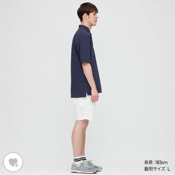 オーバーサイズジャージーポロシャツのHPモデル