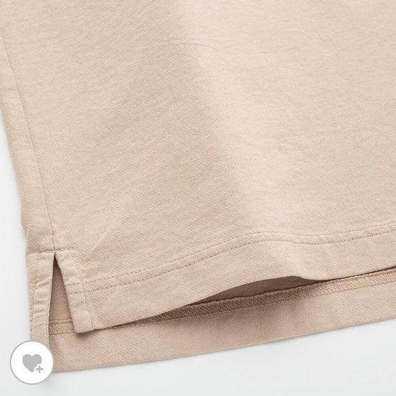 オーバーサイズジャージーポロシャツの素材2