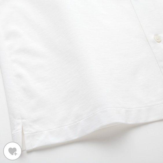 エアリズムジャージーポロシャツオープンの素材2
