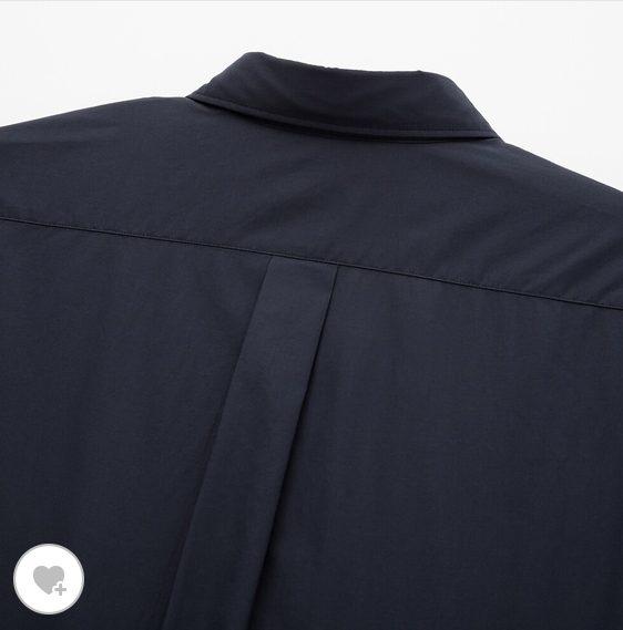 エクストラファインコットンブロードオーバーサイズシャツ素材2