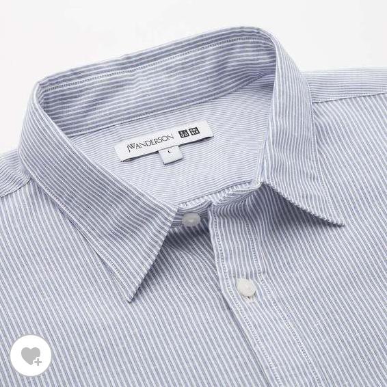 リネンブレンドオーバーサイズシャツ素材2