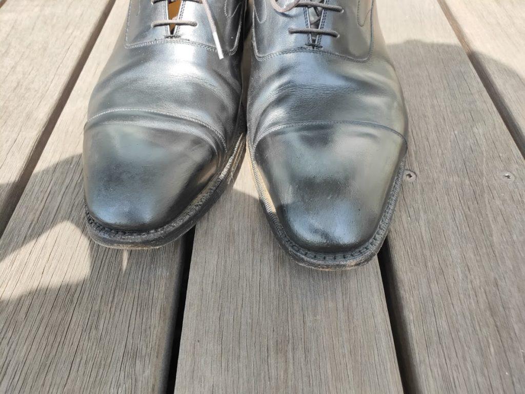 革靴とアドカラー失敗3