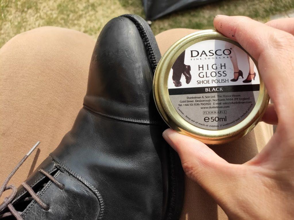 革靴靴墨クリーム