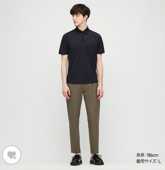 theory感動イージーパンツユニクロモデル