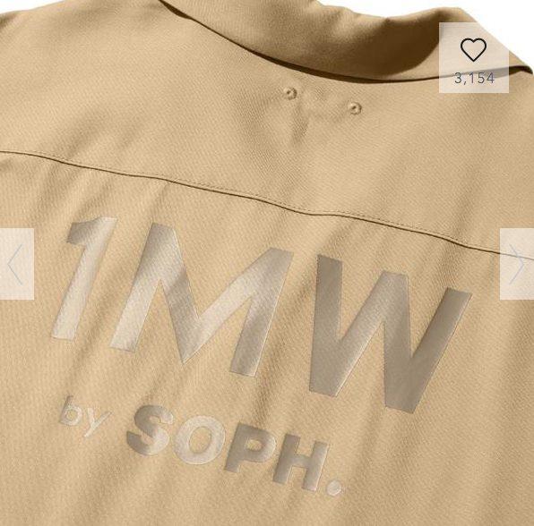 GUSOPHのオープンカラーシャツ(五分袖)の素材2