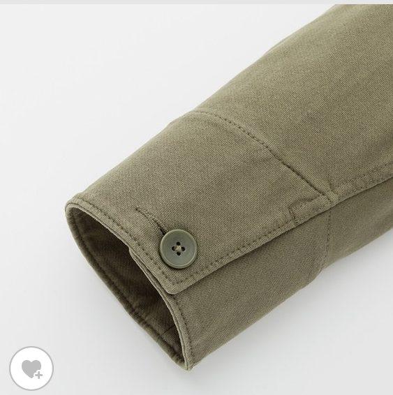 ウォッシュジャージーワークジャケットの素材2