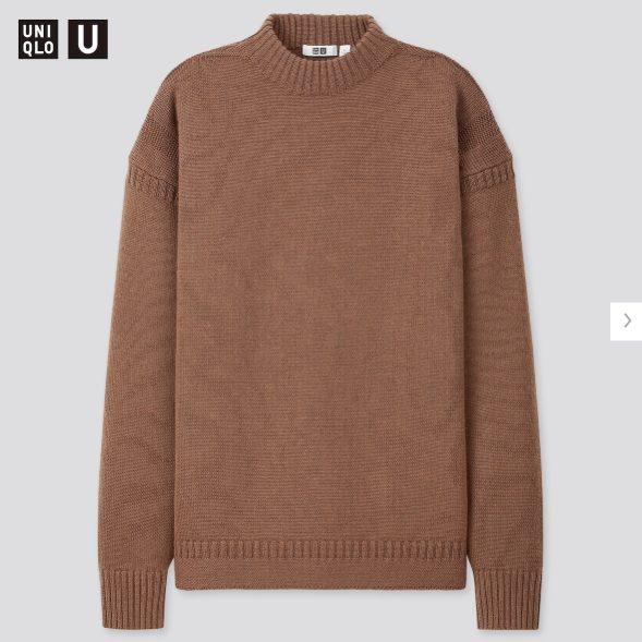 2020秋冬ミドルゲージモックネックセーターの価格