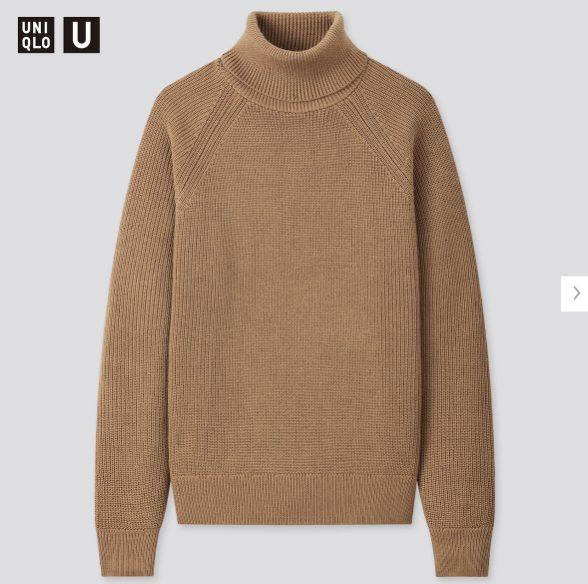 2020秋冬リブタートルネックセーターの価格