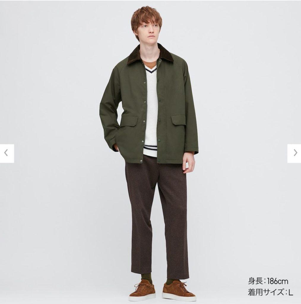 ハンティングジャケットモデル