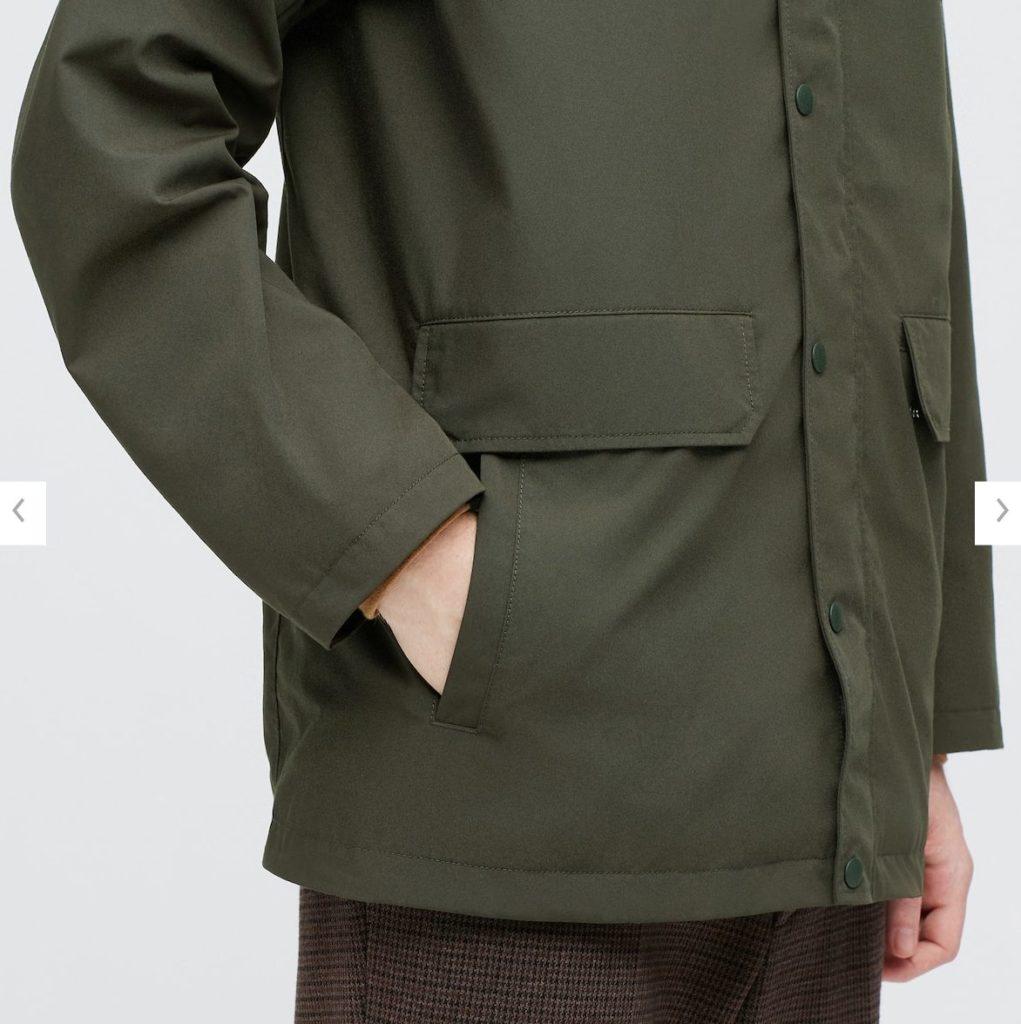 ハンティングジャケット素材2
