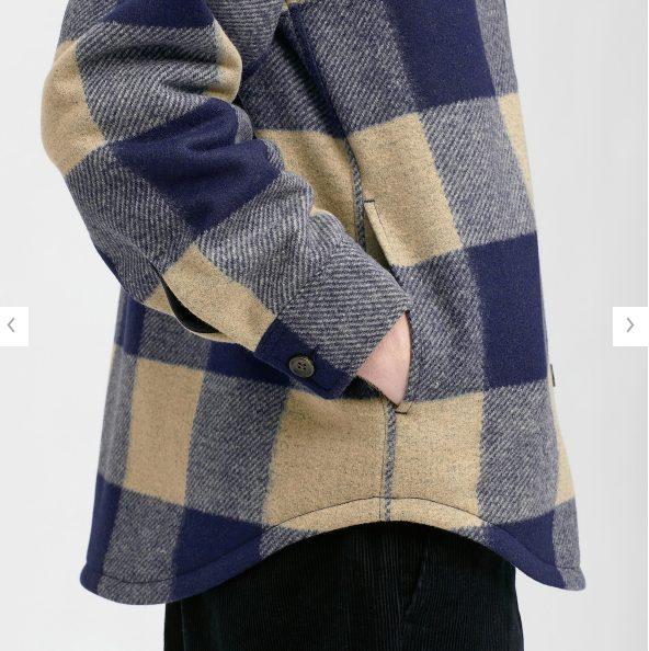 オーバーシャツジャケットの素材感2