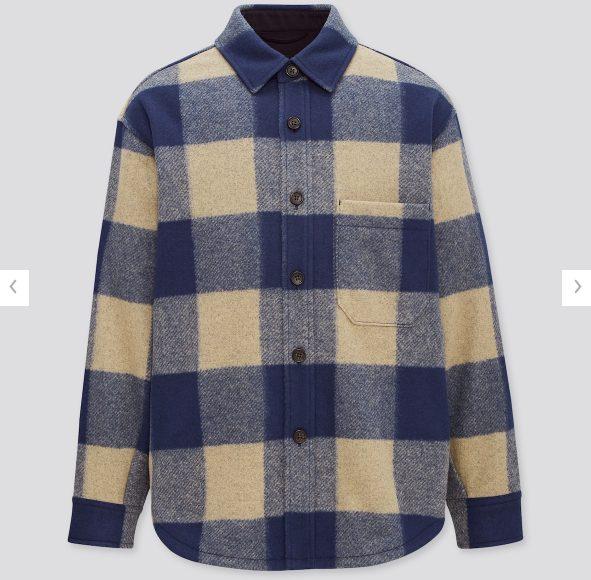 オーバーシャツジャケットの価格ページ