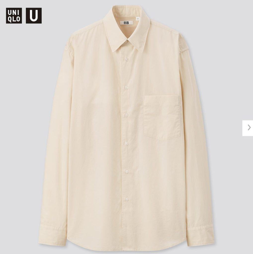 2020秋冬ブロードシャツ価格
