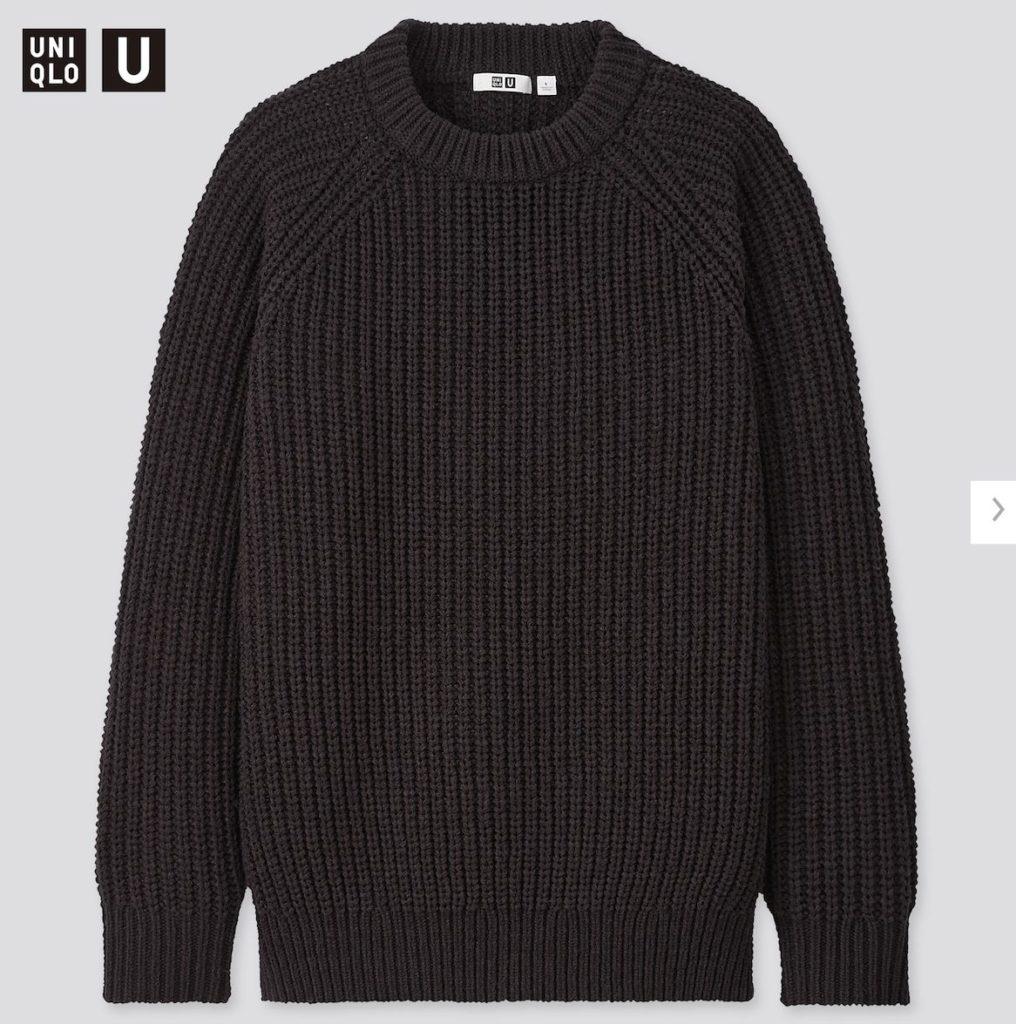 2020秋冬ライトウェイトローゲージクルーネックセーター価格