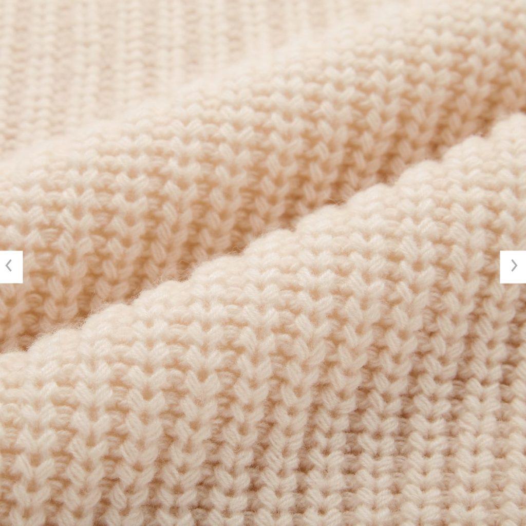 2020秋冬ライトウェイトローゲージクルーネックセーター素材2