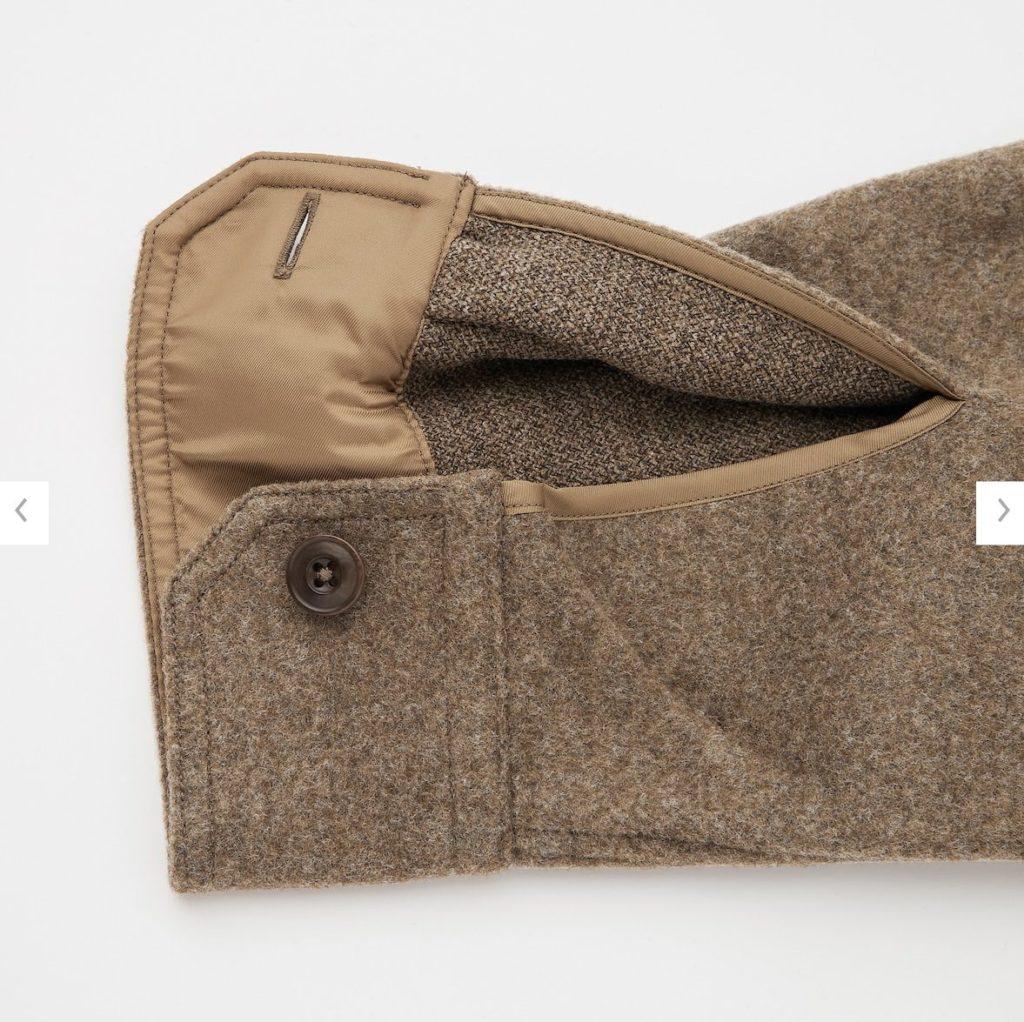 2020秋冬フリースシャツジャケットの素材2