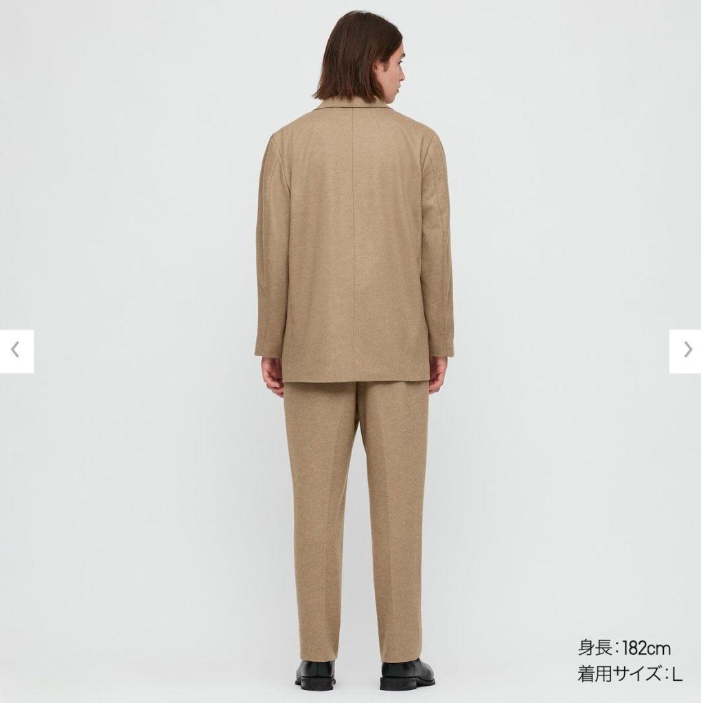 2020秋冬テーラードジャケットセットアップモデル2