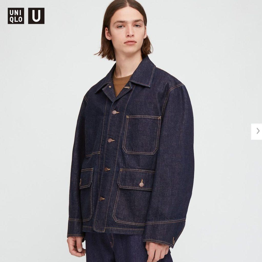 2020秋冬デニムワークジャケットのモデル1