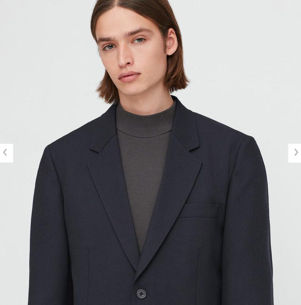 2020秋冬テーラードジャケットのモデル1