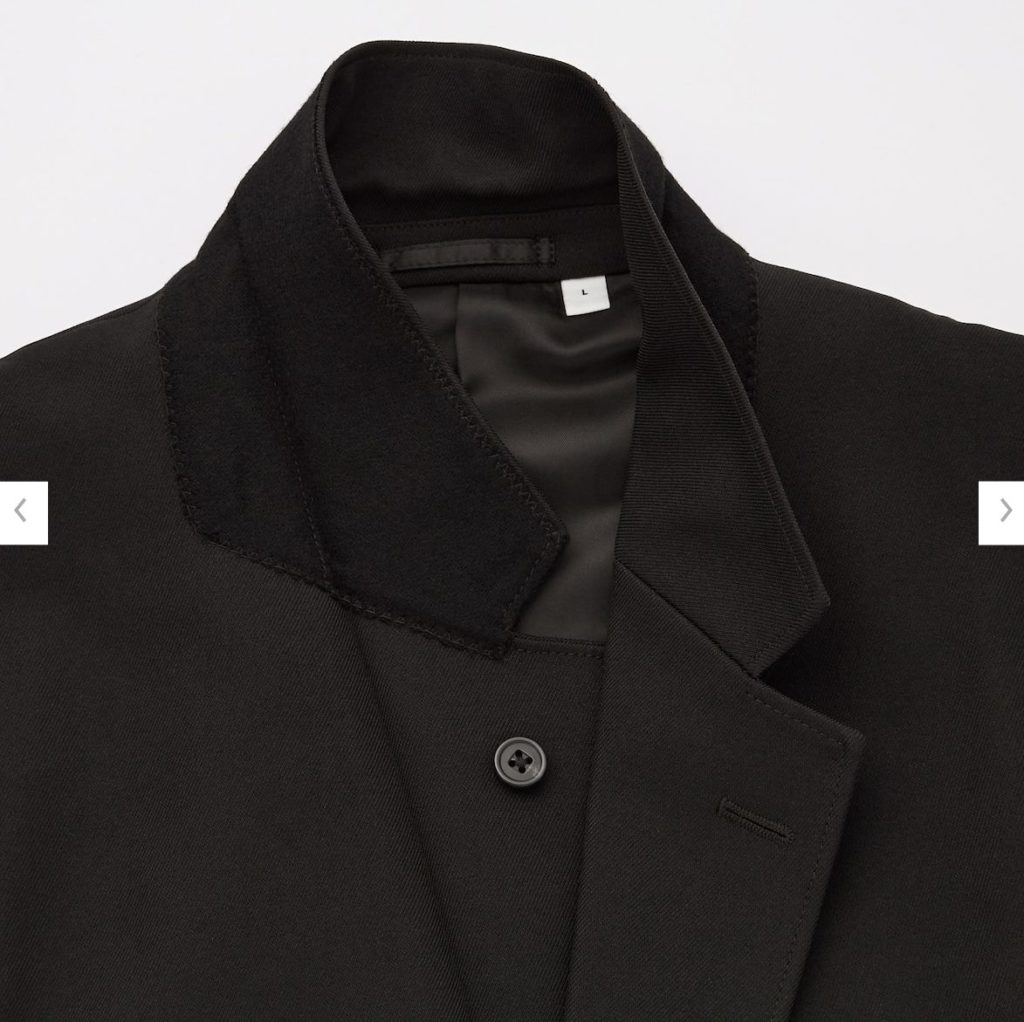 2020秋冬テーラードジャケットの素材1