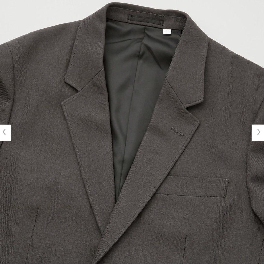 2020秋冬テーラードジャケットの素材2