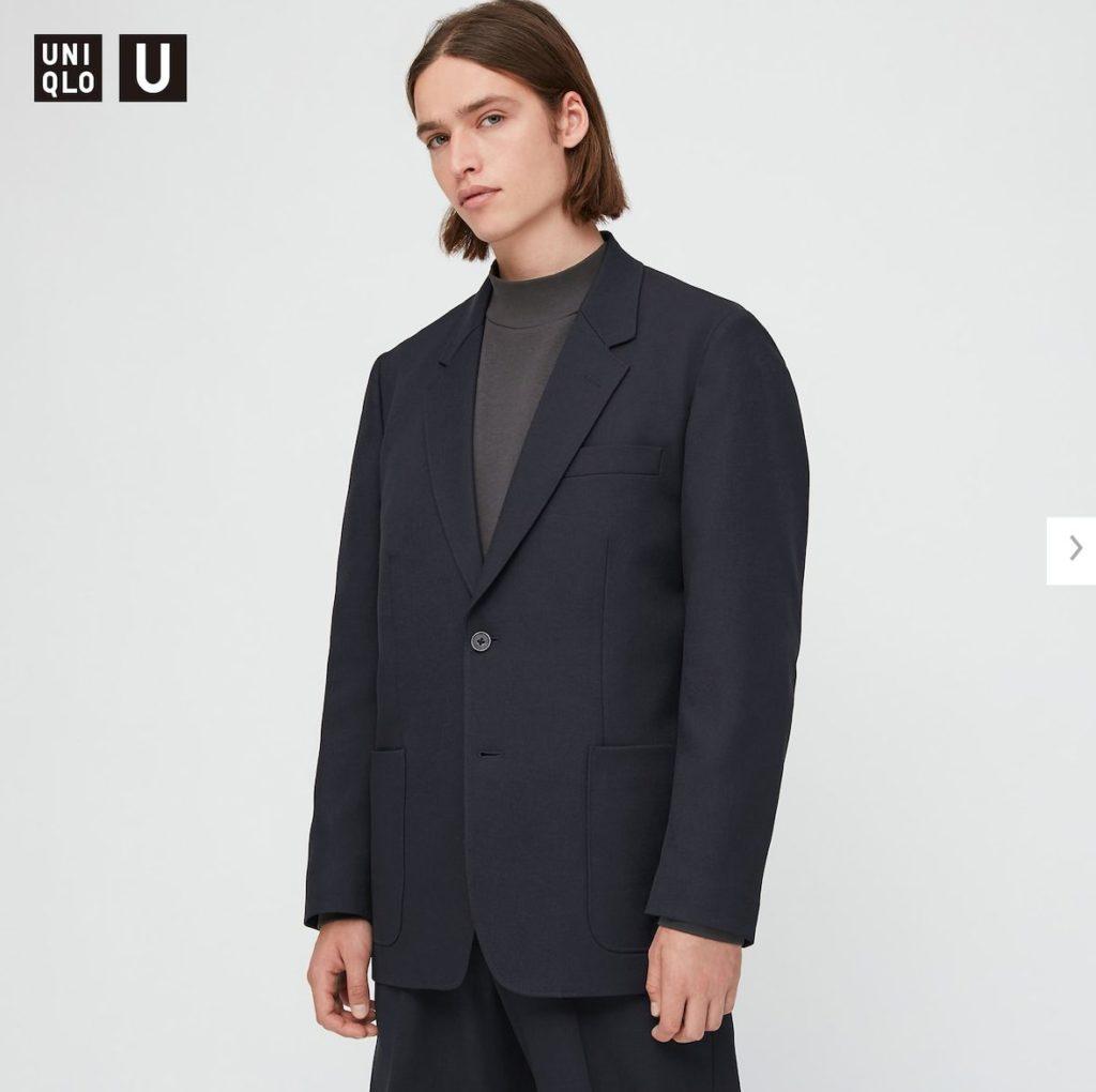 2020秋冬テーラードジャケットのモデル2