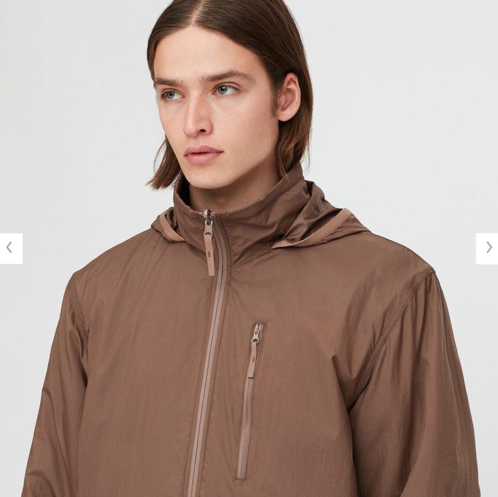 2020秋冬リバーシブルジャケットのモデル2