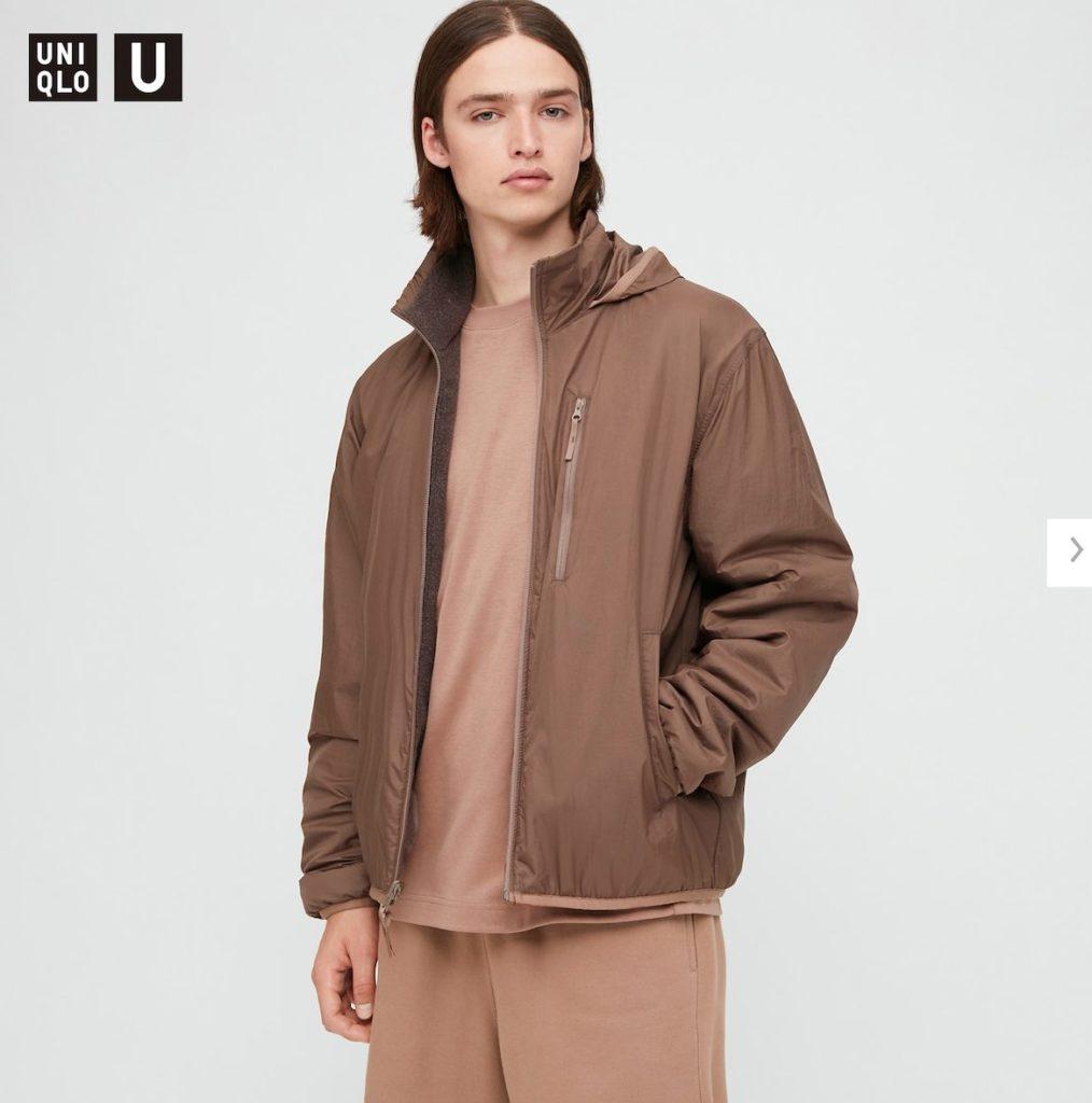 2020秋冬リバーシブルジャケットのモデル1