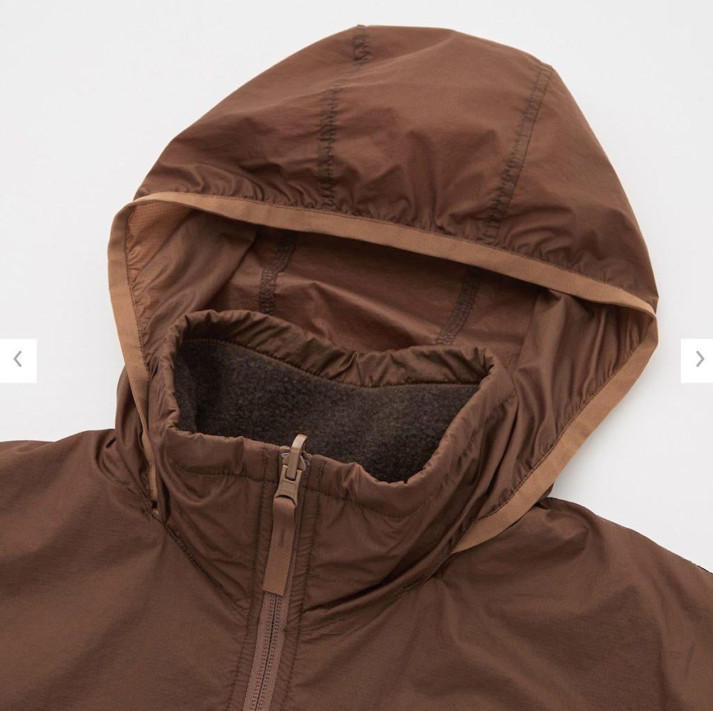 2020秋冬リバーシブルジャケットの素材1