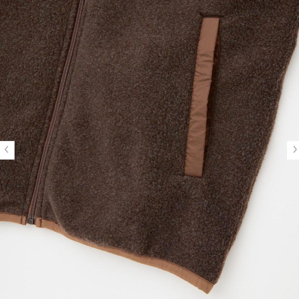 2020秋冬リバーシブルジャケットの素材2