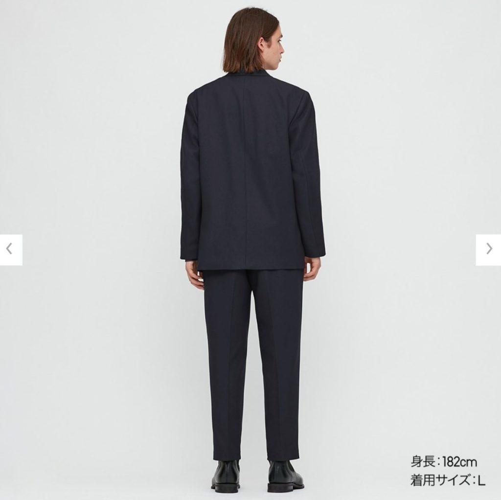 2020秋冬テーラードジャケットセットアップのモデル3