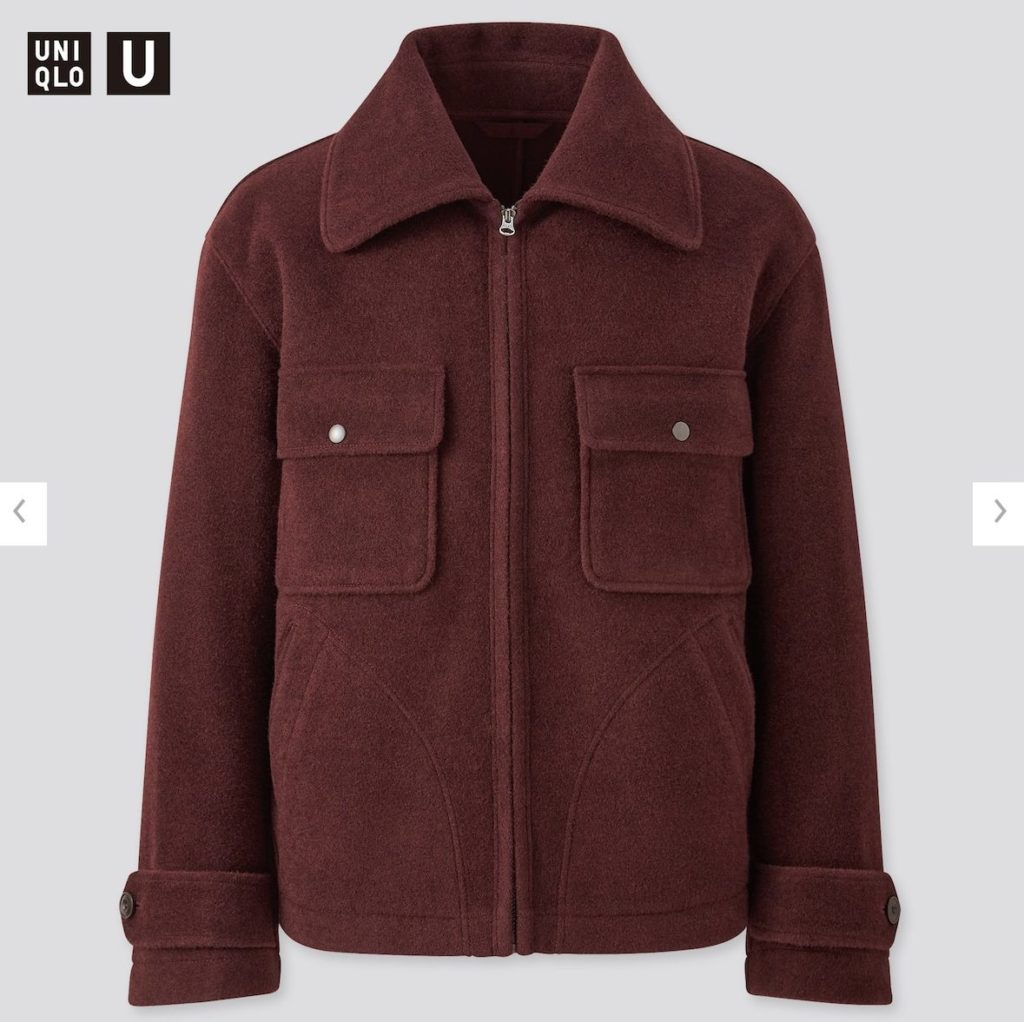 2020秋冬ウールブレンドフリースジャケットの価格