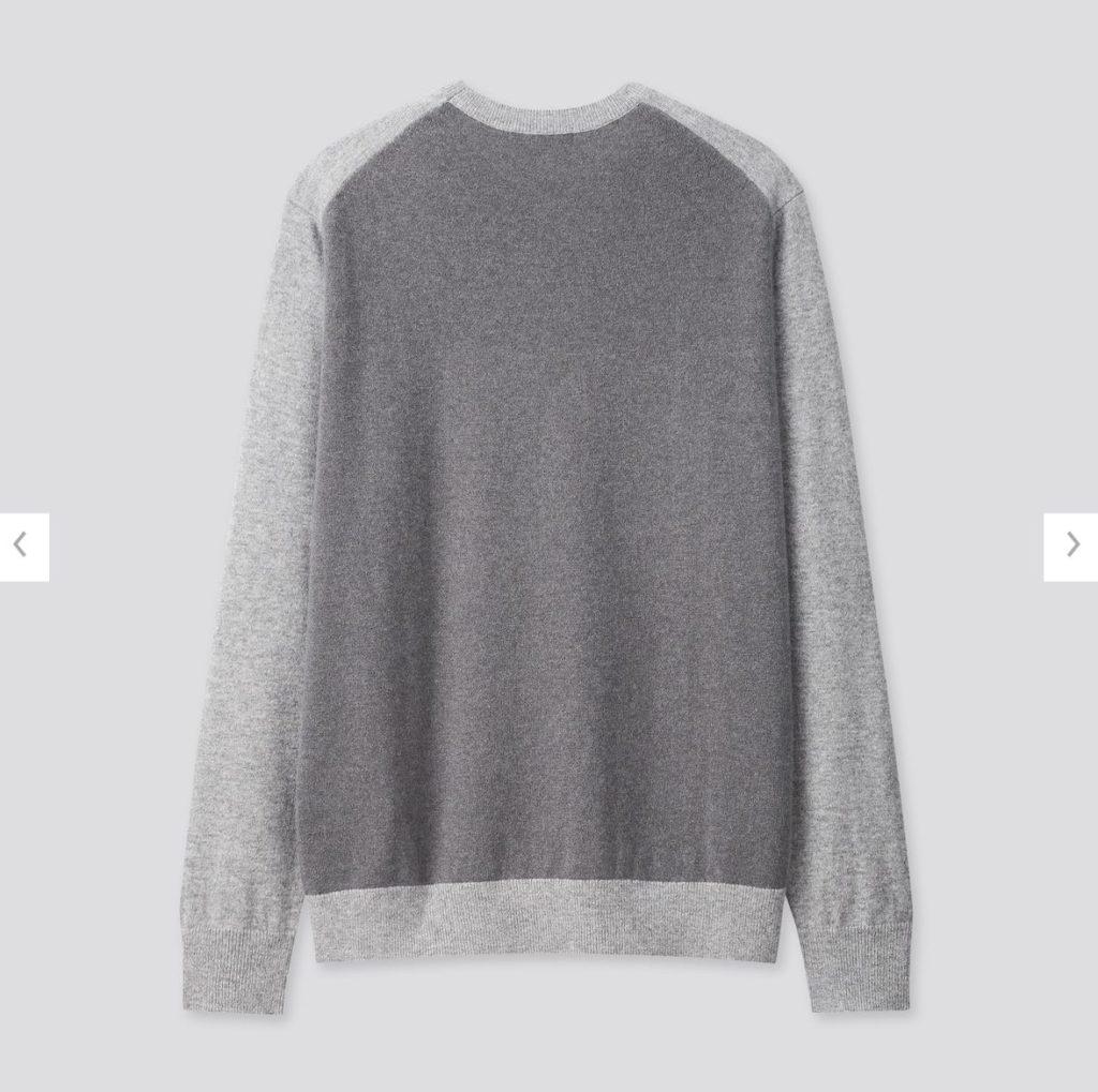 2020JWアンダーソンカシミヤクルーネックセーターの素材1
