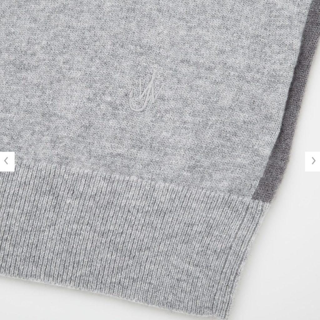 2020JWアンダーソンカシミヤクルーネックセーターの素材2